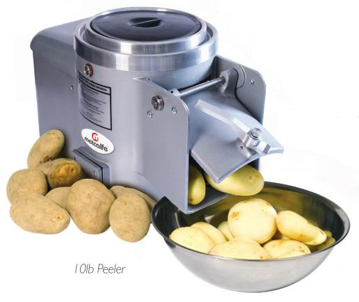 Bench Mounted Potato Peelers